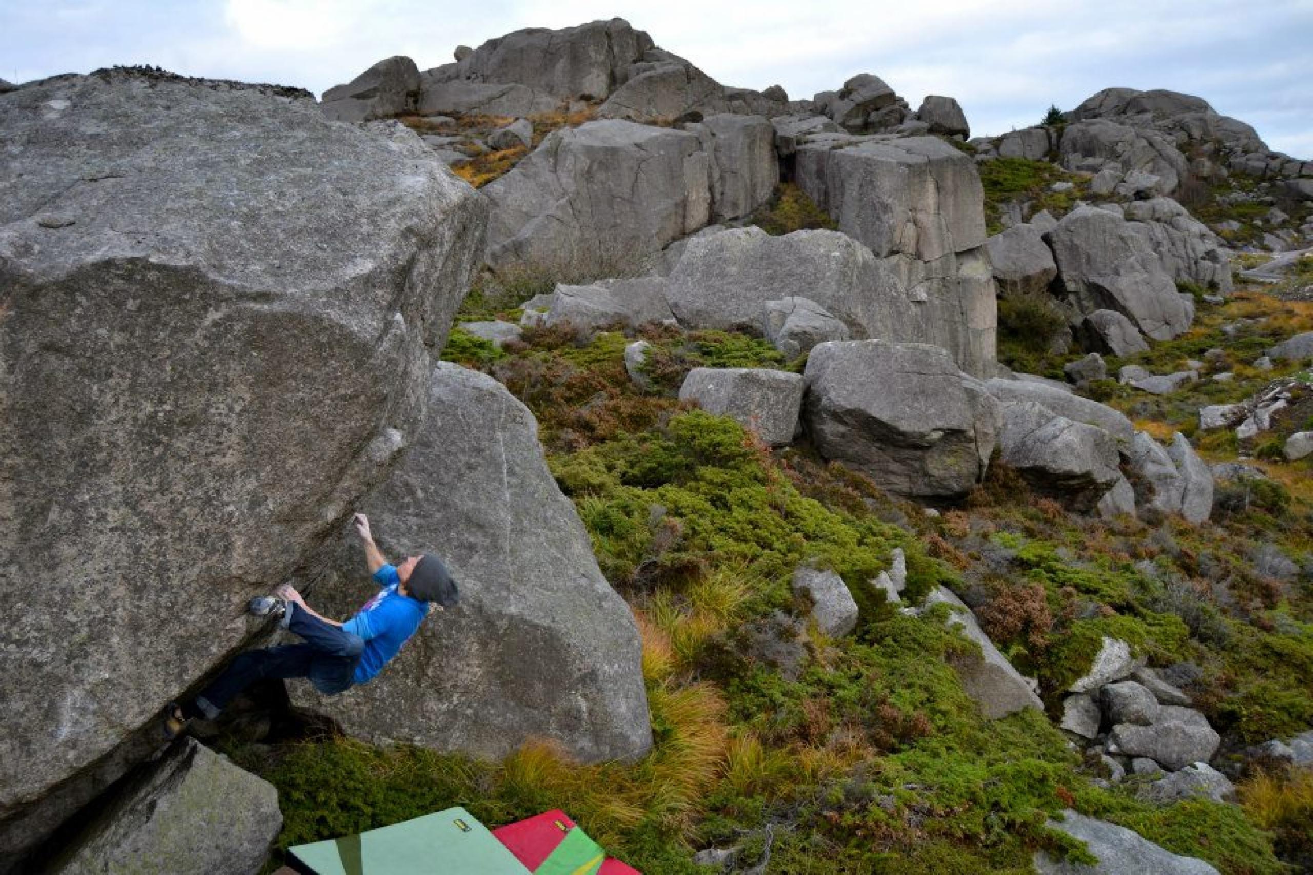 photographer: Therese Johansen, in photo: Torstein Magnussen