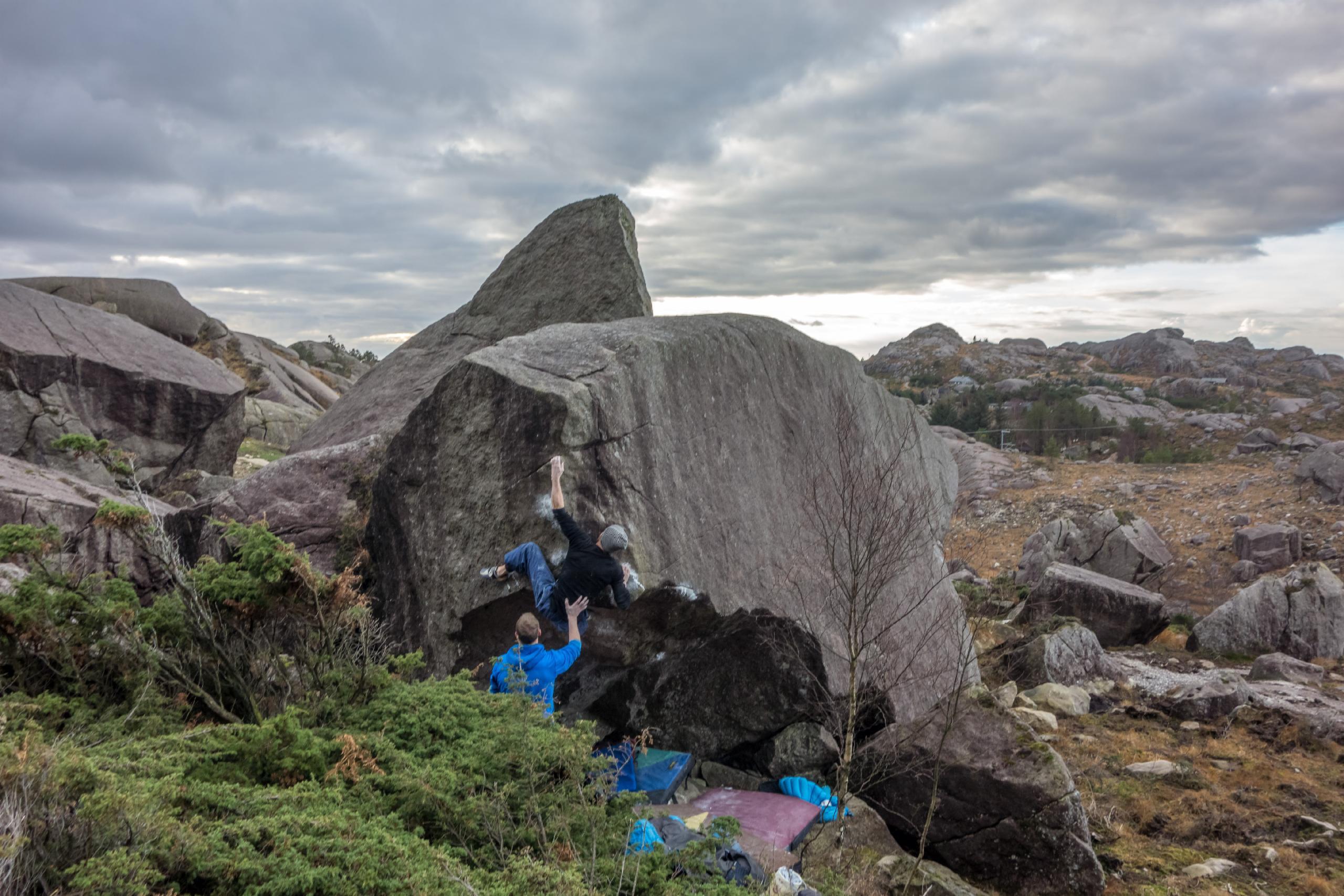 photographer: Jostein Øygarden, in photo: Tore Årthun