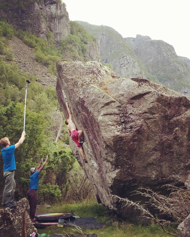photographer: Therese Johansen, in photo: Jostein Øygarden