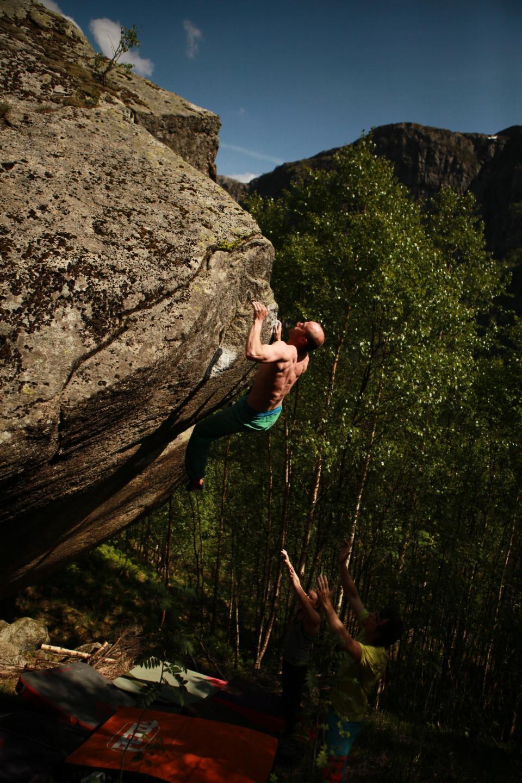 photographer: Fredric Schibstad Møllerop, in photo: Knut Sømme